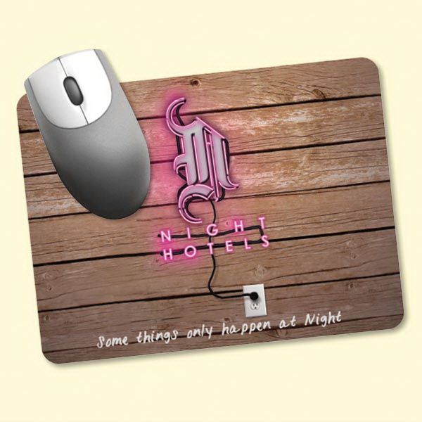 "Vynex®Heavy Duty 6""x8""x1/8"" Hard Surface Mouse Pad"