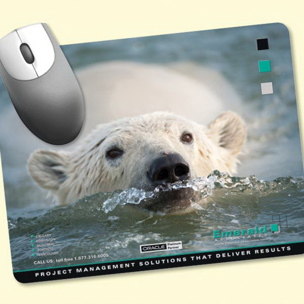 """Peel&Place®7""""x9""""x.015"""" Ultra Thin Mouse Pad"""