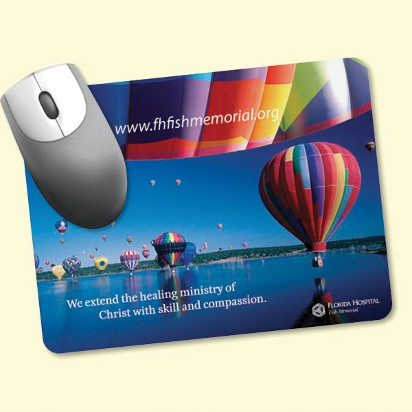 """Barely There™6""""x8""""x.020"""" Ultra Thin Mouse Pad"""