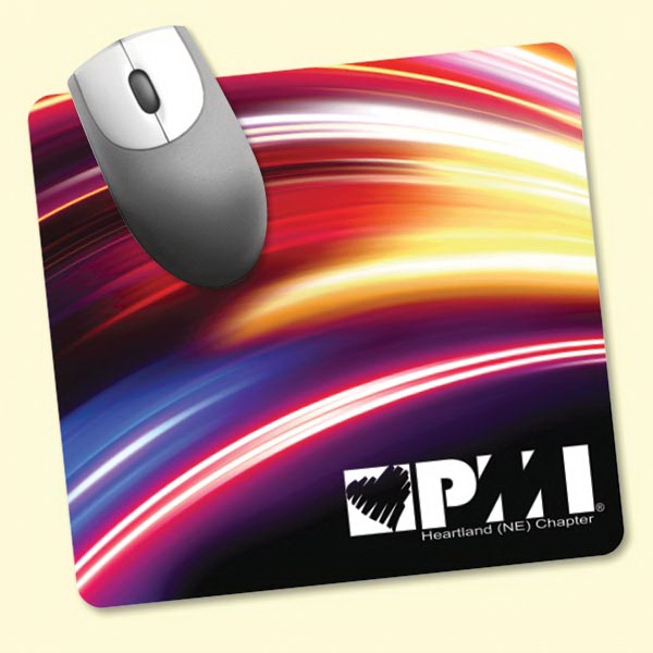 """Barely There™7.5""""x8""""x.020"""" Ultra Thin Mouse Pad"""
