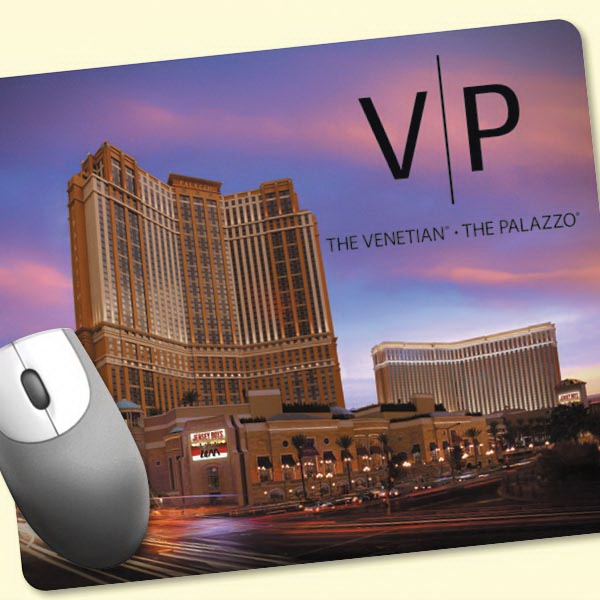 """Barely There™8""""x9.5""""x.020"""" Ultra Thin Mouse Pad"""