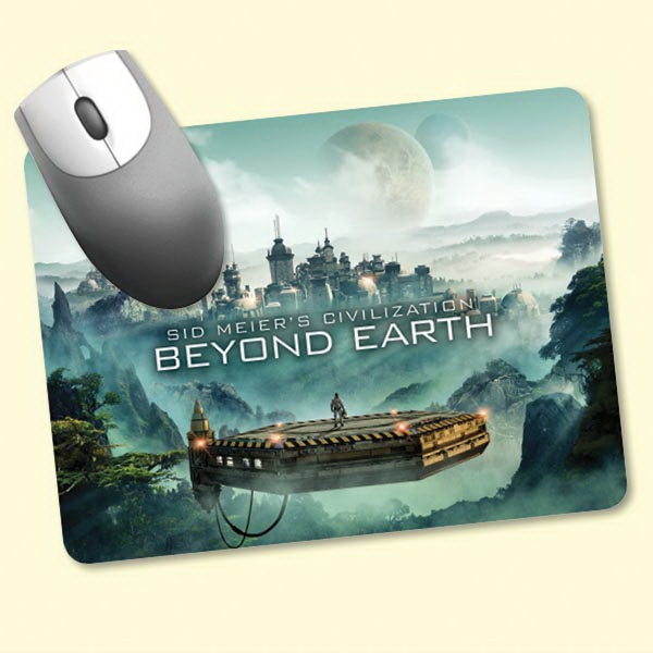"""ReTreads®6""""x8""""x3/32"""" Recycled Hard Surface Mouse Pad"""