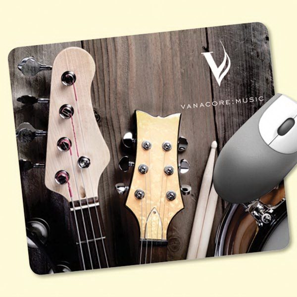 """ReTreads®7""""x8""""x3/32"""" Recycled Hard Surface Mouse Pad"""
