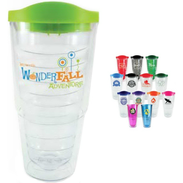 24 oz Orbit Tumbler with Lid