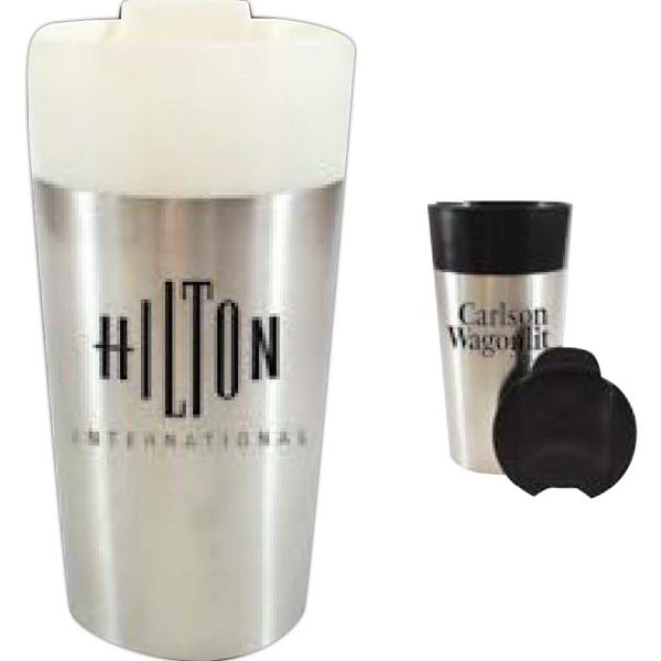 16oz.Classy Traveler Mug - BPA free 16 oz. classy traveler mug.