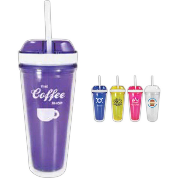 Nibble N Sip Travel Tumbler