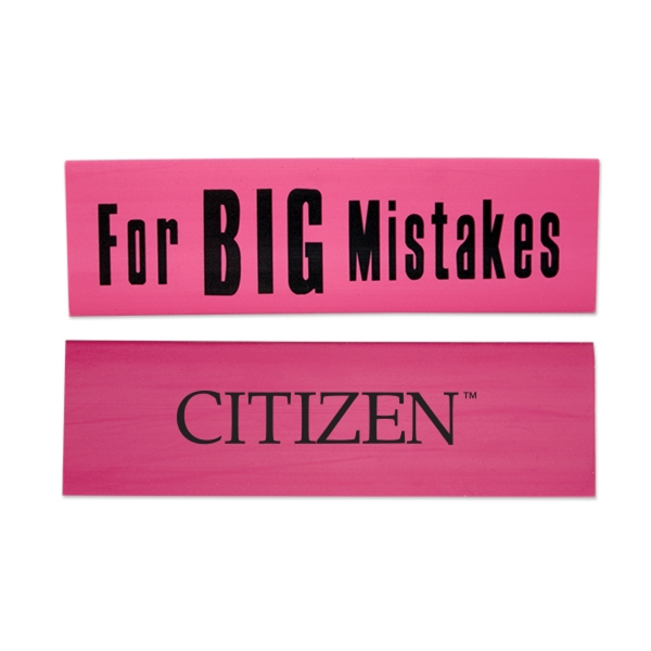 Big Mistakes Eraser