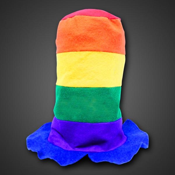 Rainbow Stove Top Hat