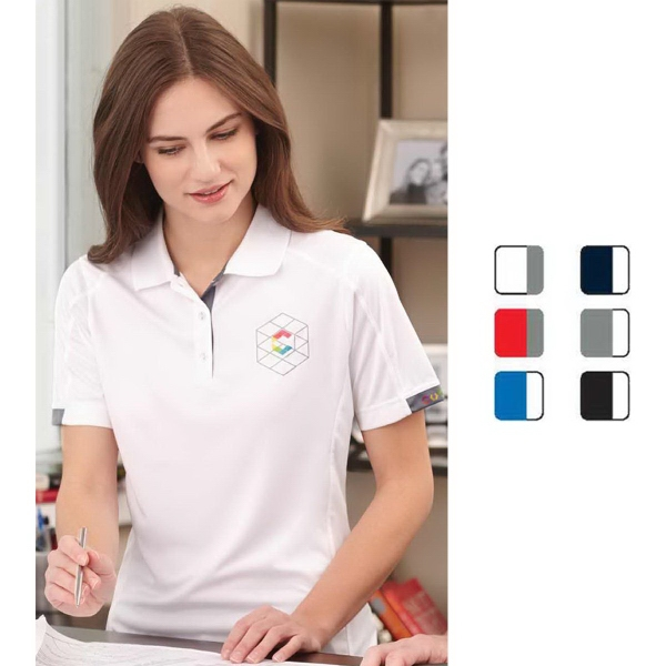 Kiso Women's Short Sleeve Polo