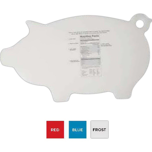 Flex-It (TM) Piggy Cutting Board