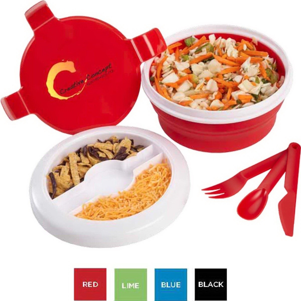 Round Silicone Lunch Container