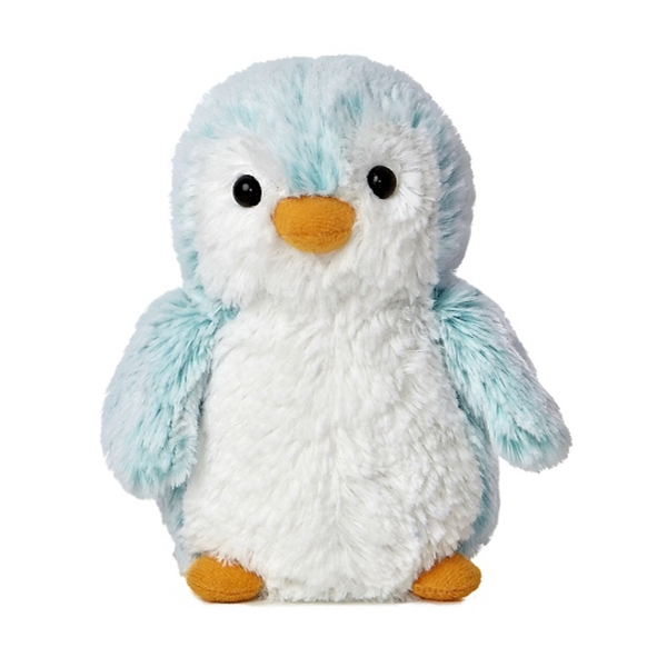 "6"" Mini Pom Pom Penguin - Blue"