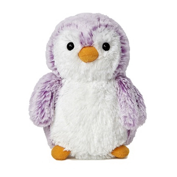 "6"" Mini Pom Pom Penguin - Purple"