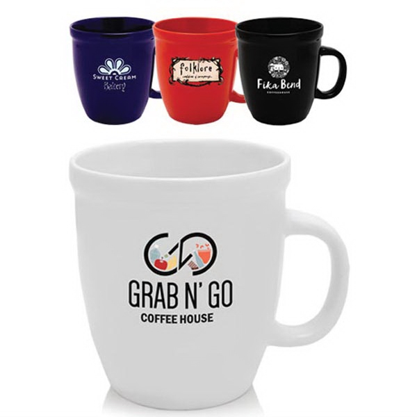 21 oz Glossy Ceramic Coffee Mugs