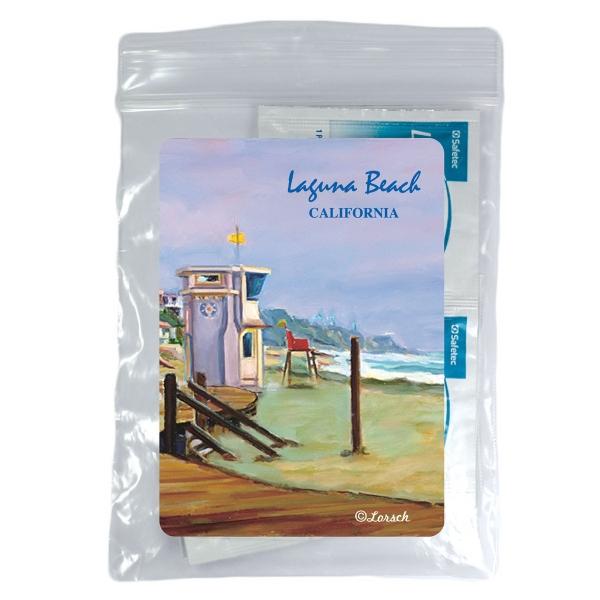 Beach Kit Necessities Bag With Spf30 Sunscreen Suntan Lotion Spf