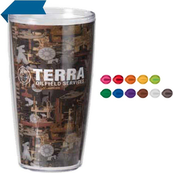 16oz Tritan (TM) USA Oilfield Camo Tumbler