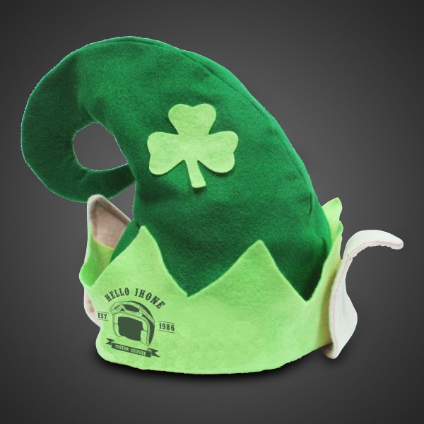 Custom Branded Shamrock Hat