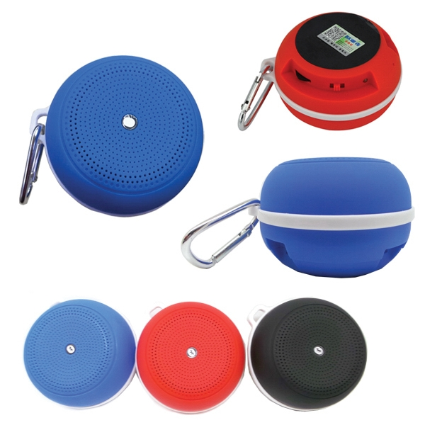 Wireless Speaker With Carabiner