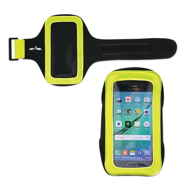 Reflective Arm Band Phone Holder