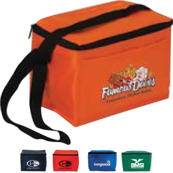 6 Pack Cooler Bag - 6 Pack cooler bag made of 70 denier nylon.