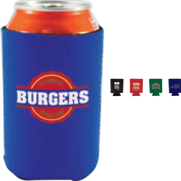 Collapsible Neoprene Can Cooler