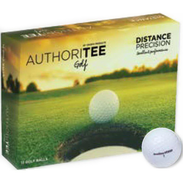 Authoritee (TM) Golf Balls
