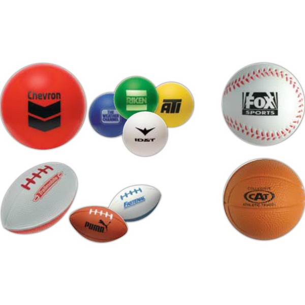 Football Sports Stress Relievers