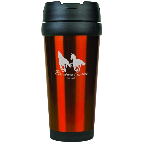 Custom Laser Engraved Travel Mugs