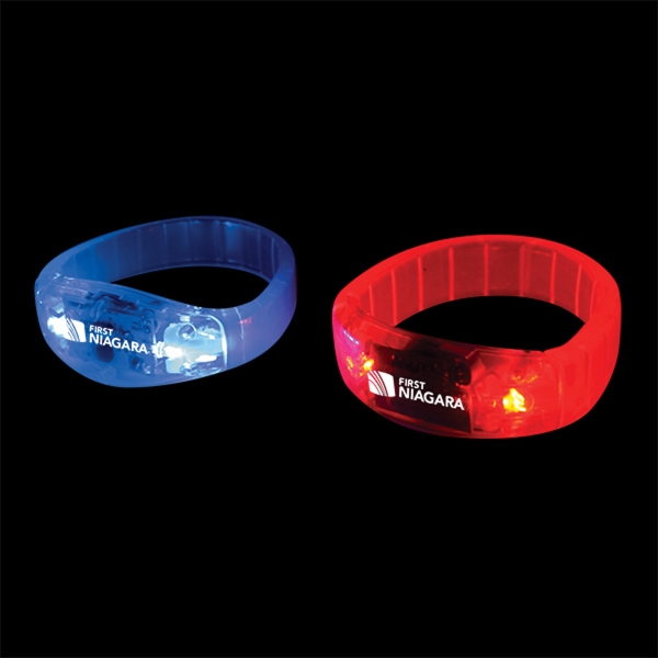 Flashing Sound Activated Bracelets