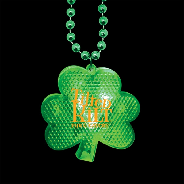 Light-Up Shamrock Medallion Beads