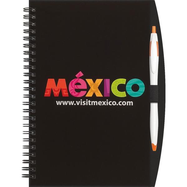 Slim Line Color - Seminar Pad w/ Pen Port & Cougar Pen
