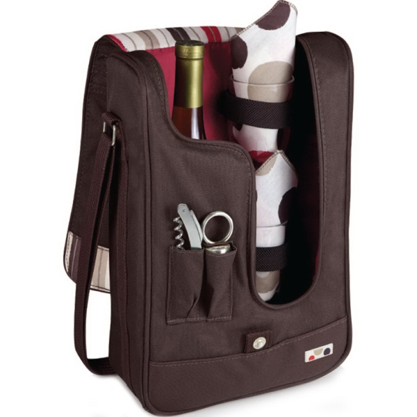 Barossa - Insulated single-bottle wine tote/cooler.