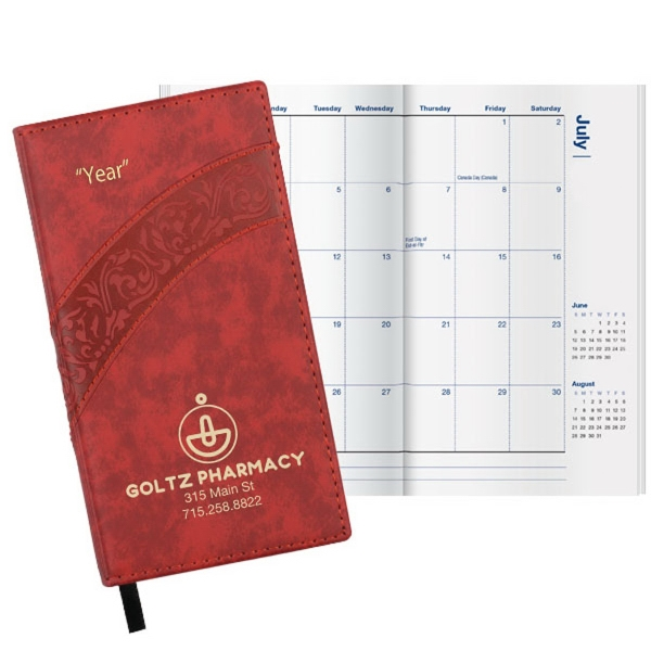 Duo Villa Classic Monthly Pocket Planner