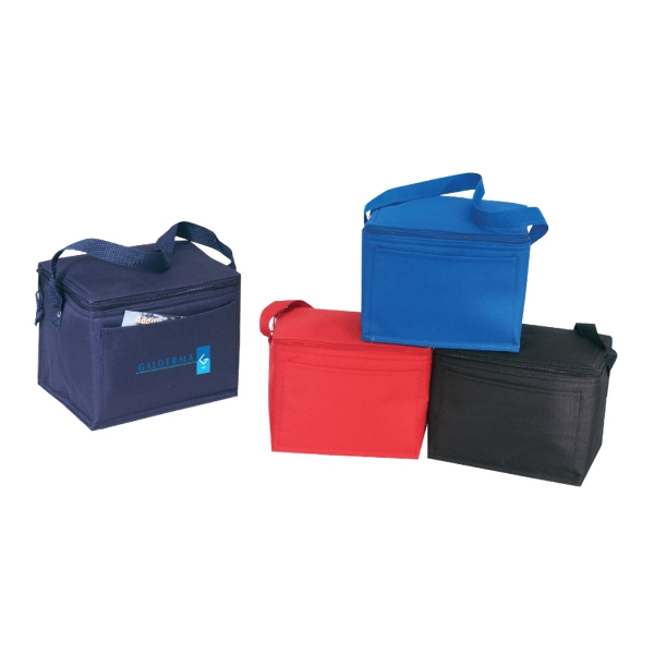 600D Polyester 6-Pack Cooler