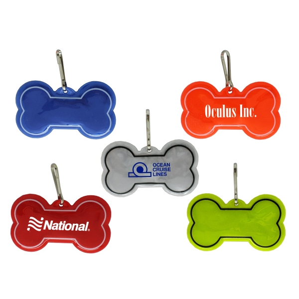 Bone Shaped Reflective Tag
