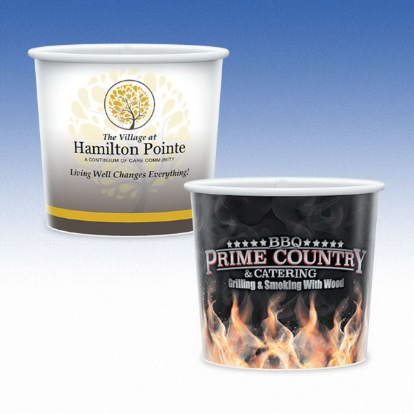 16oz-Microwavable Paper Containers
