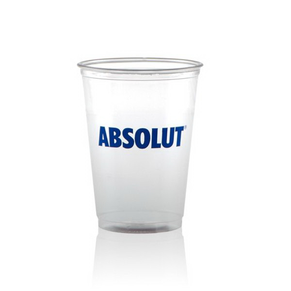 10 oz Soft Sided Clear Plastic Cup - 10 oz Soft Sided Clear Plastic Cup
