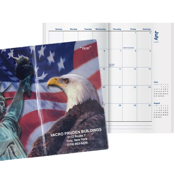 Patriotic Liberty Pocket Planner