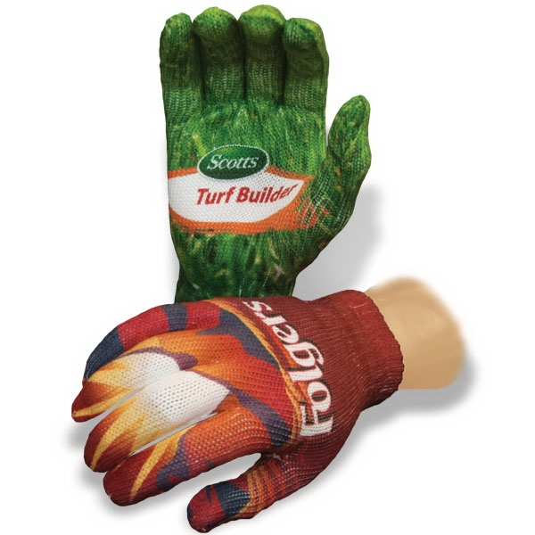 Full Color Sublimated Knit Glove