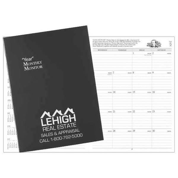 Docket Monthly Monitor Deluxe Planner
