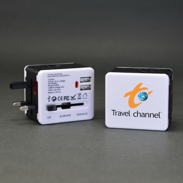 Expedition - World Travel Adapter with USB Ports