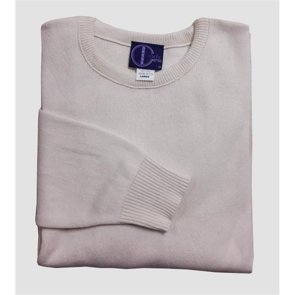 Men's/Unisex Cotton Crew Neck Pullover