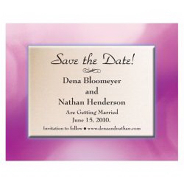 Frame Save the Date Magnet