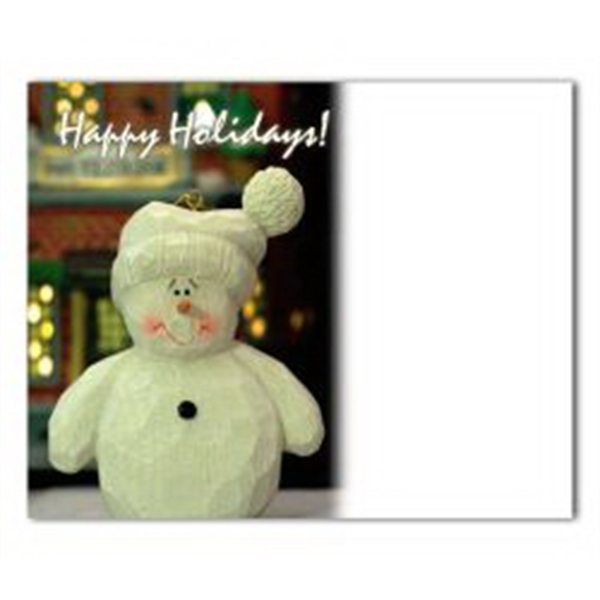 Snowman Save the Date Magnet - Snowman Save the Date Magnet