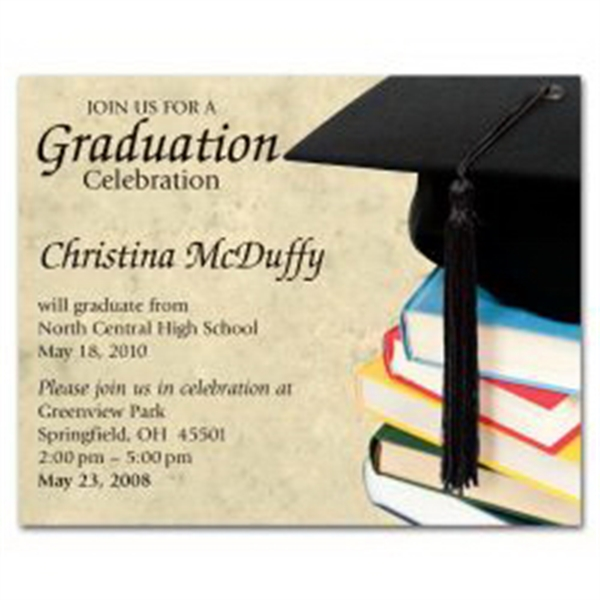 Graduation Cap Save the Date Magnet