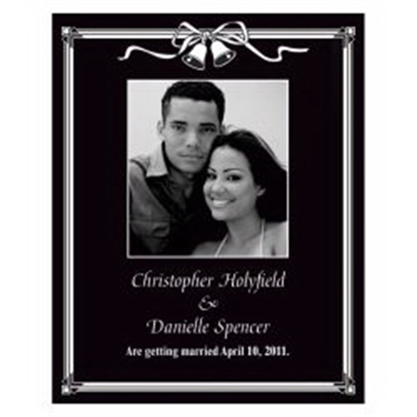 Black and White Photo Save the Date Magnet