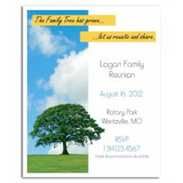 Family Tree Save the Date Magnet