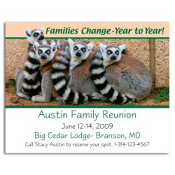Families Change Save the Date Magnet