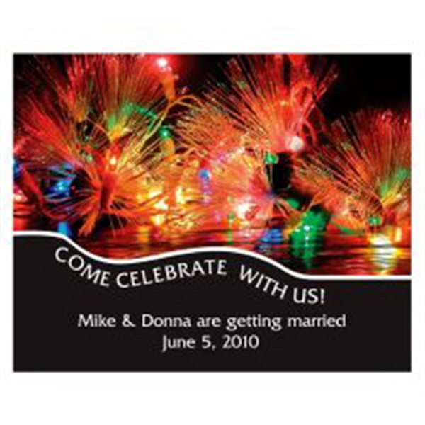 Celebration Lights Save the Date Magnet