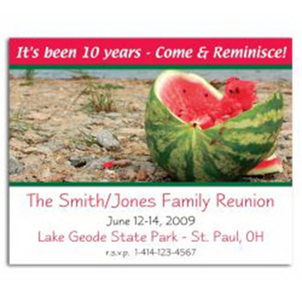 Watermelon Save the Date Magnet -